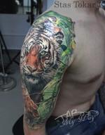тату тигр тату джунгли