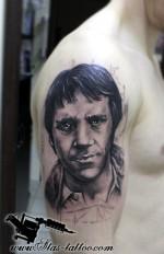Высоцкий тату