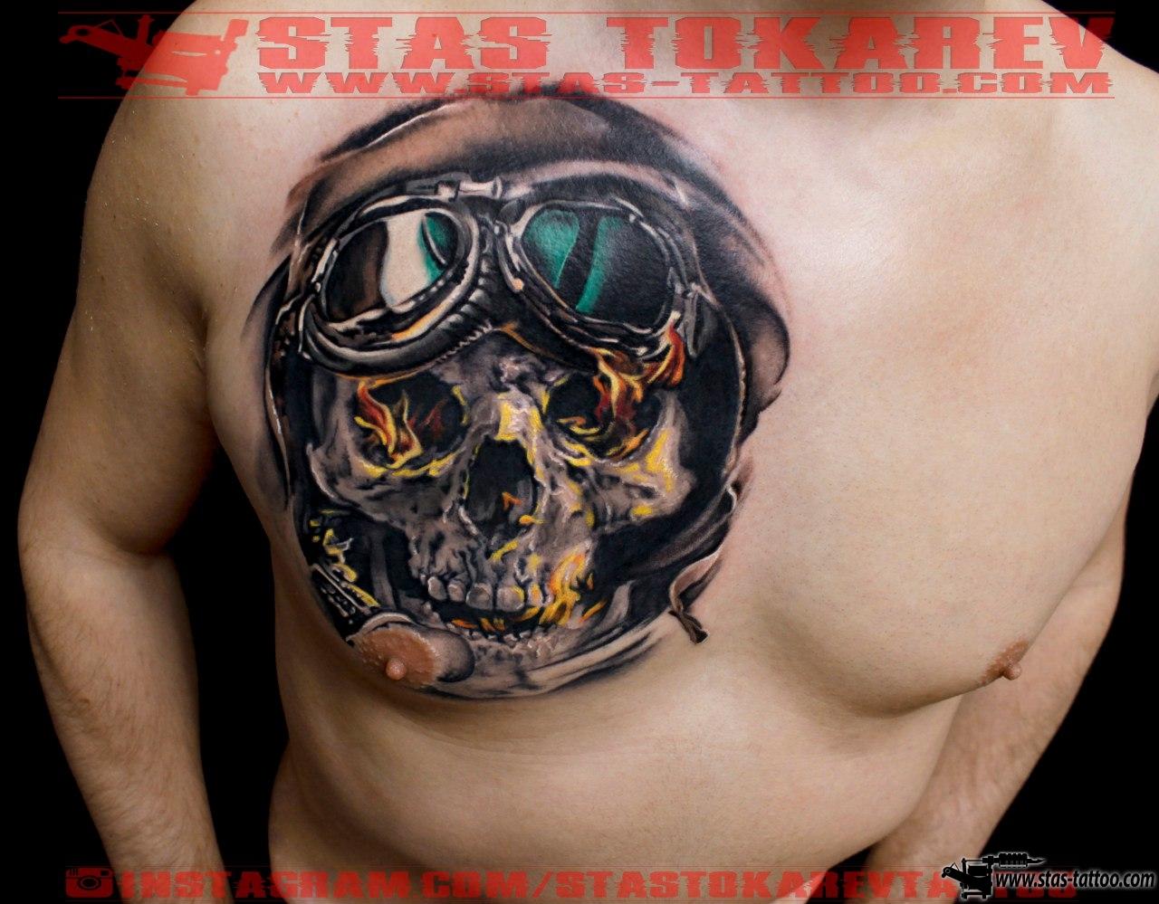 Тату череп: значение, 616 фото татуировки, эскизы